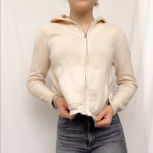 Charter Club cropped Zip Up Sweatshirt